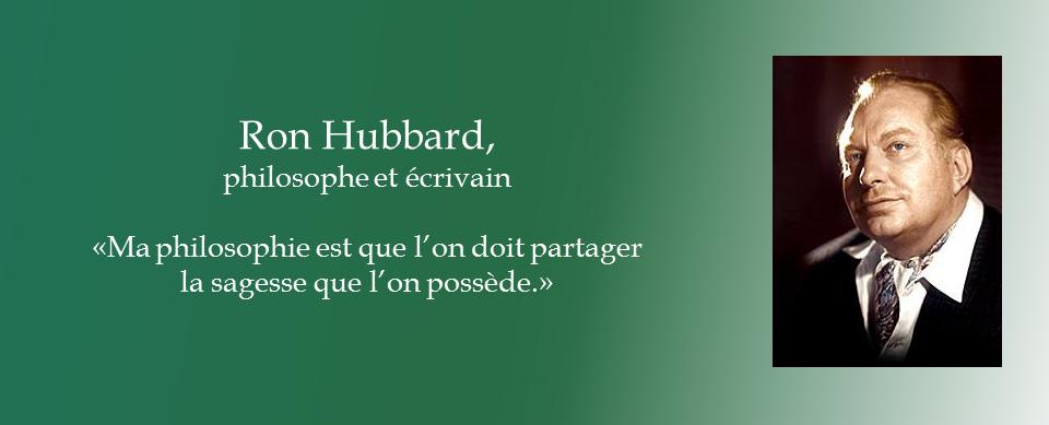 Ron Hubbard, écrivain et philosophe