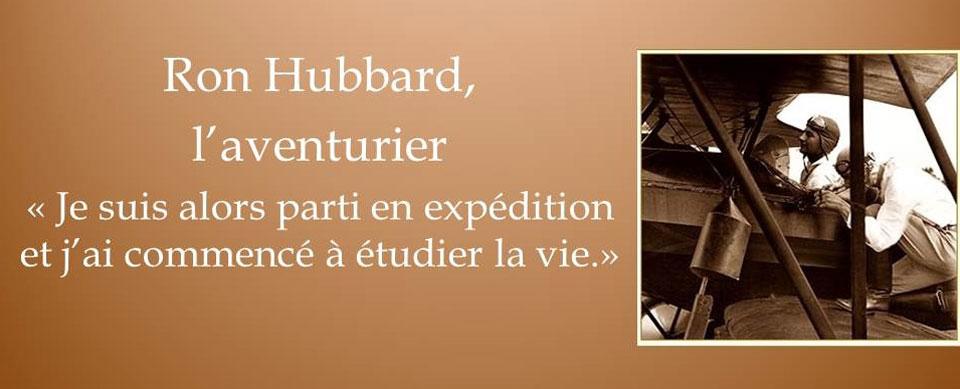 Ron Hubbard, aventurier